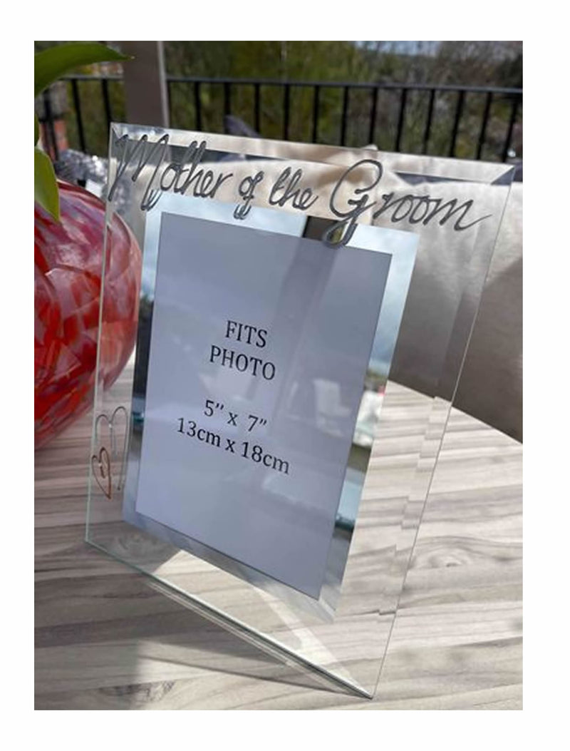 Mother Of The Groom Large Picture Portrait Frame Silver