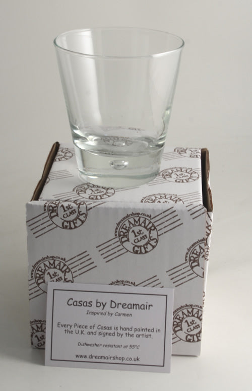 Personalised Wording Gift Whisky Glass: (Turquoise)