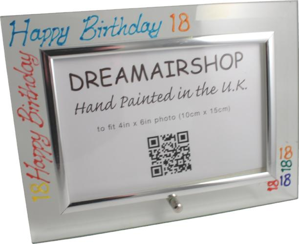 18th Birthday Photo Frame Land Brights