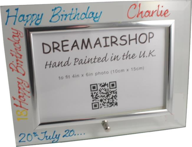 Personalised Birthday Land Brights
