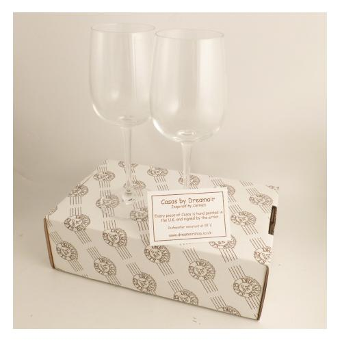 Wine Glasses Gift Box