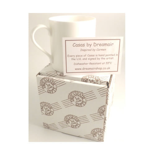 Cycling Fine Bone China Printed Mug