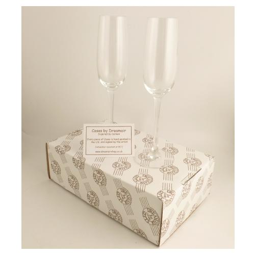 Champagne Glasses Box
