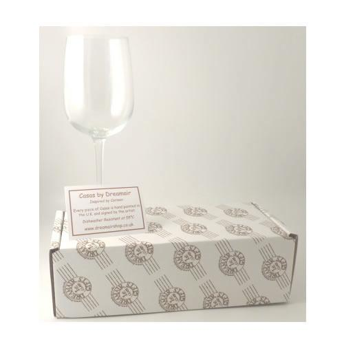Wine Glass Box