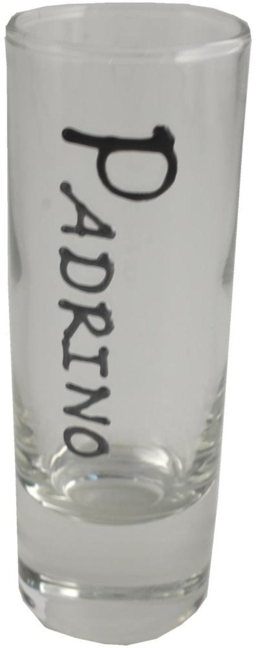 Padrino Vaso Chupito - Godfather Shot Glass (Blk/Sil)