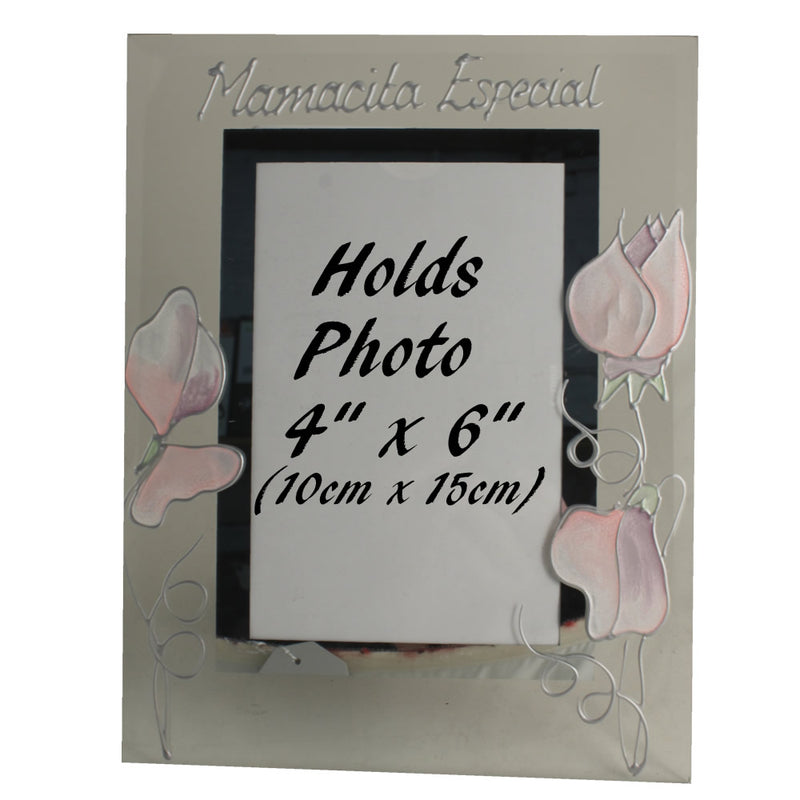 Mamacita Especial foto marco retrato - Mommy Photo Frame (Sweet Pea)