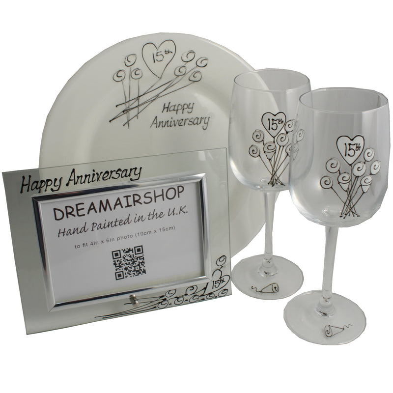 15th Wedding Anniversary Luxury Gift Set