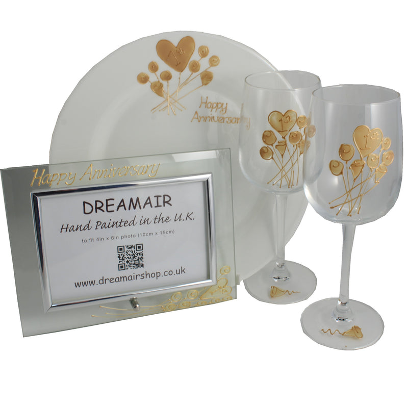 1st Wedding Anniversary Luxury Gift Set