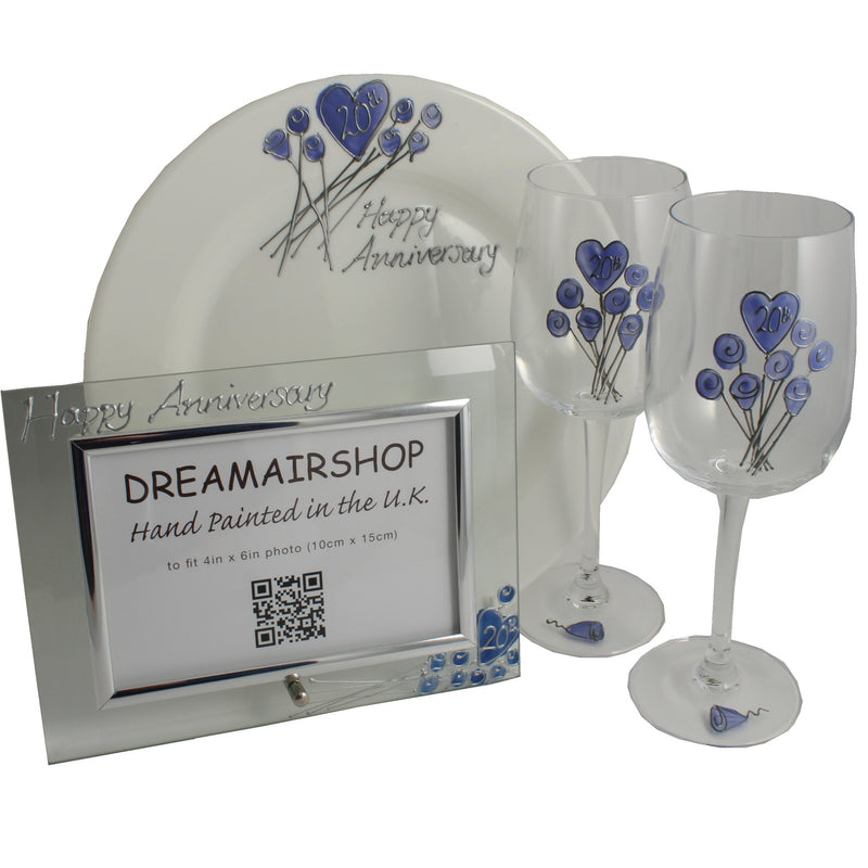 20th Wedding Anniversary Luxury Gift Set