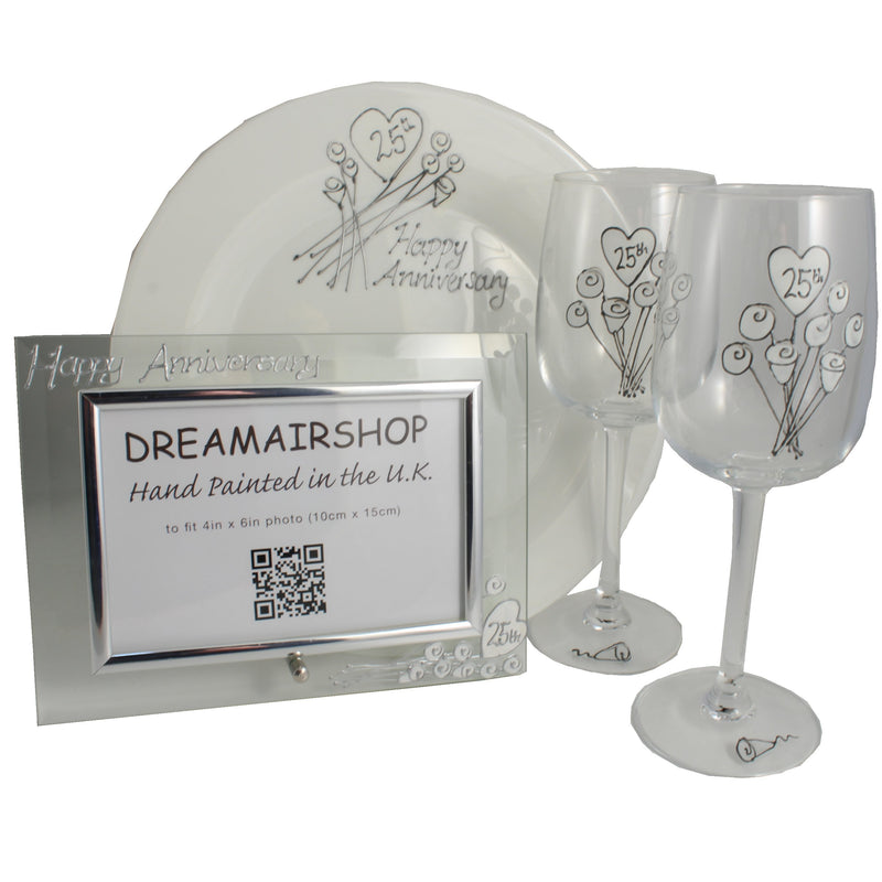 25th Wedding Anniversary Luxury Gift Set