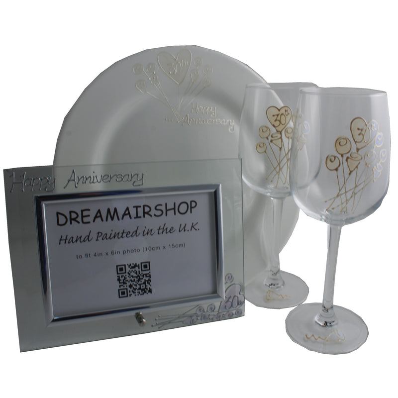 30th Wedding Anniversary Luxury Gift Set