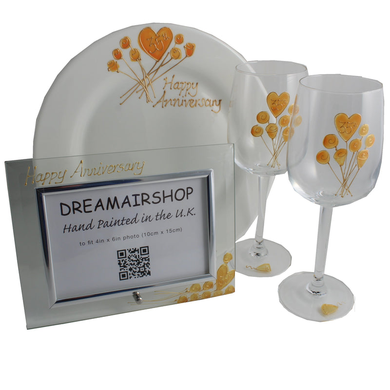 35th Wedding Anniversary Luxury Gift Set