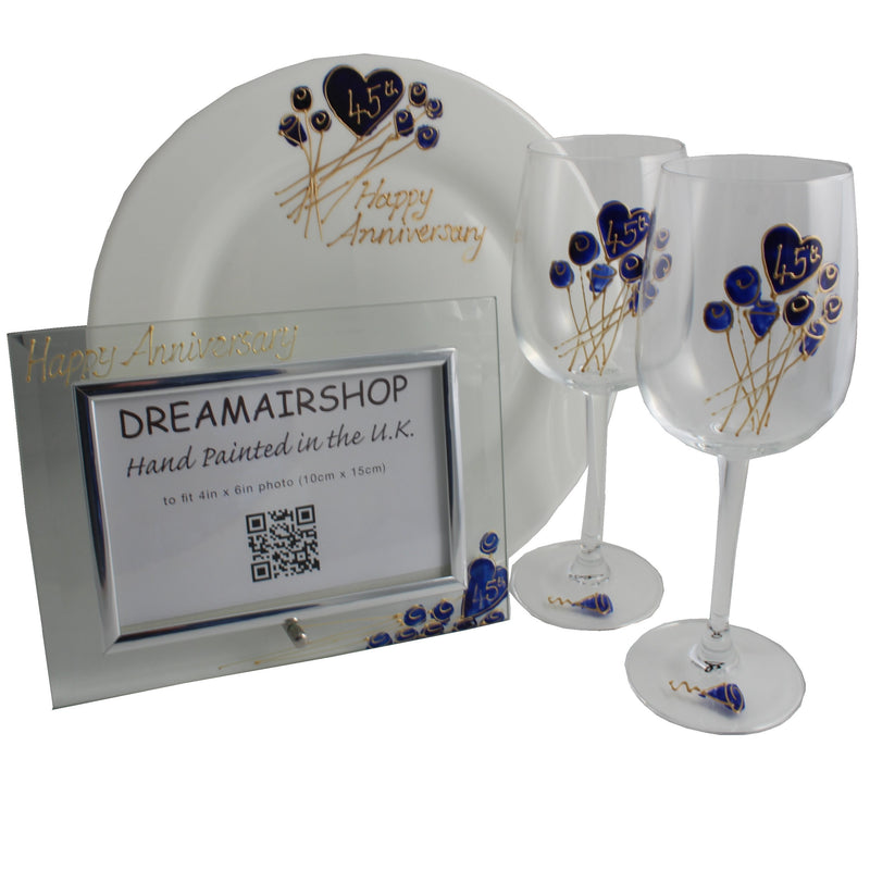 45th Wedding Anniversary Luxury Gift Set