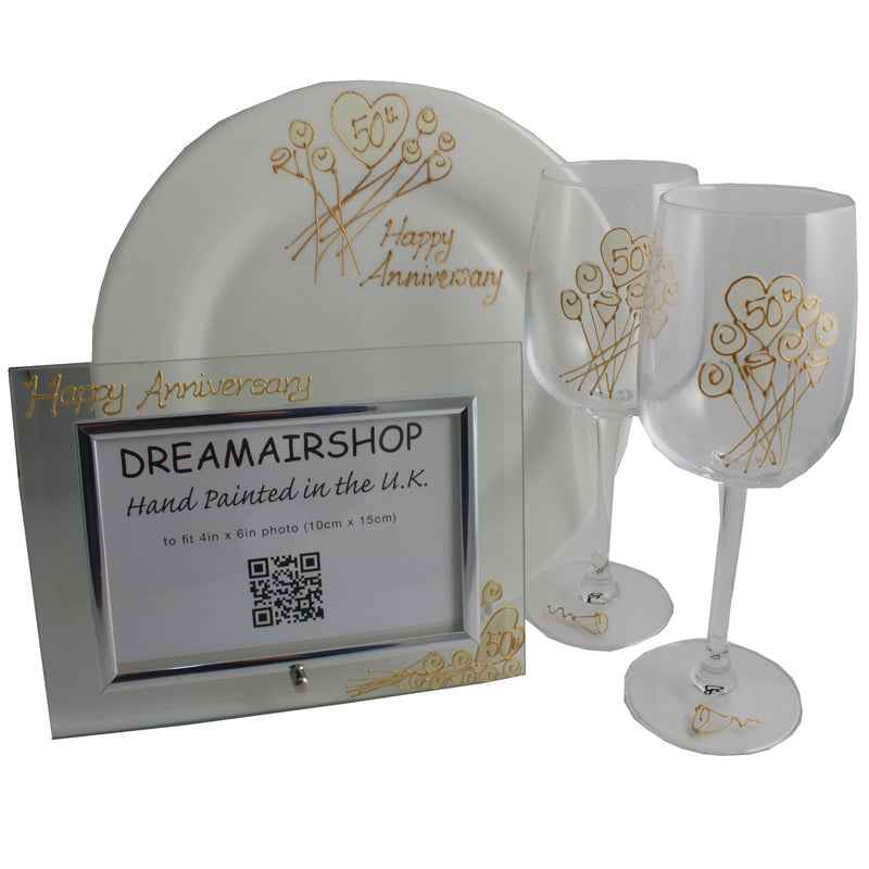50th Wedding Anniversary Luxury Gift Set