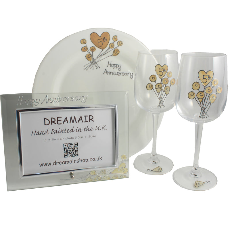 5th Wedding Anniversary Luxury Gift Set