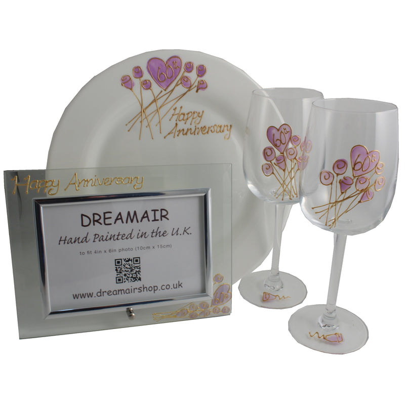 60th Wedding Anniversary Luxury Gift Set