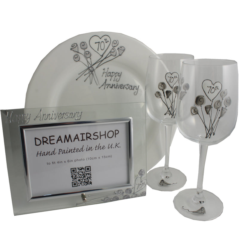 70th Wedding Anniversary Luxury Gift Set