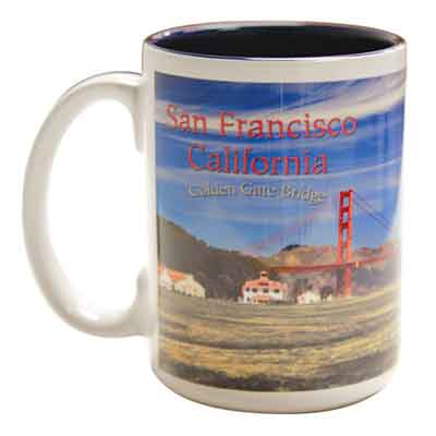 15oz Sublimation Two Tone Mug