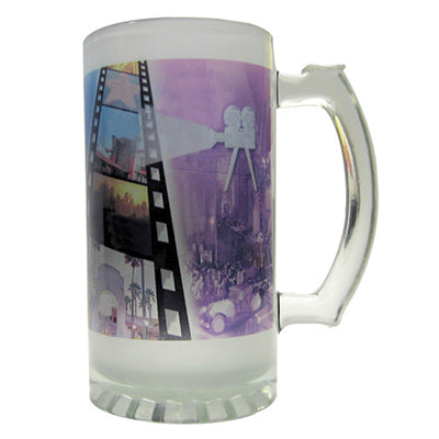16oz Sublimation Frosted Glass Stein