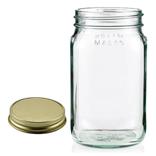 Mason Jar - No Handle