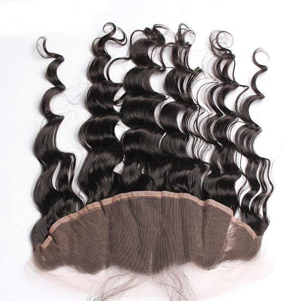 "Brazilian Ocean Wave 13""x6"" Lace Frontal"