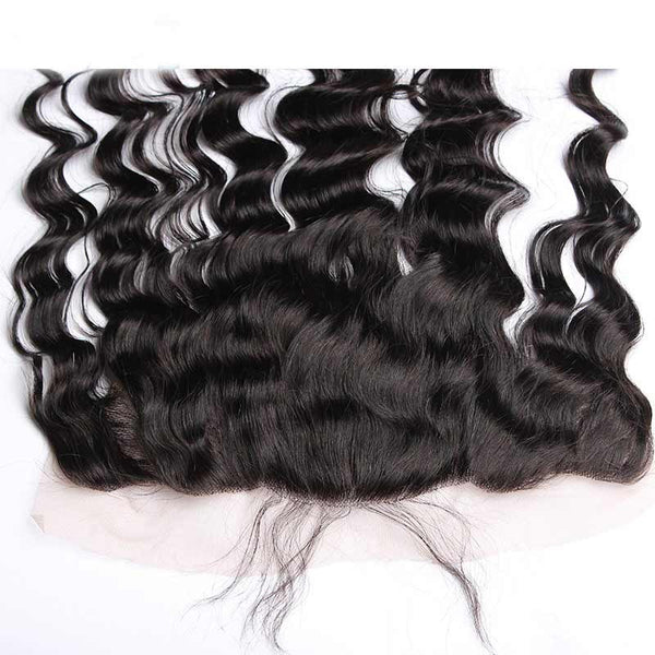 "Brazilian Ocean Wave 13""x4"" Lace Frontal"