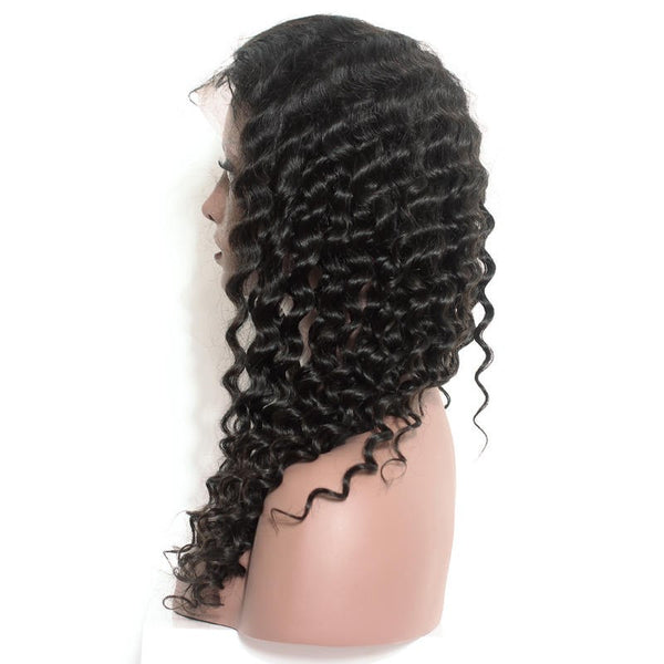 Brazilian Curly Full Lace Wig