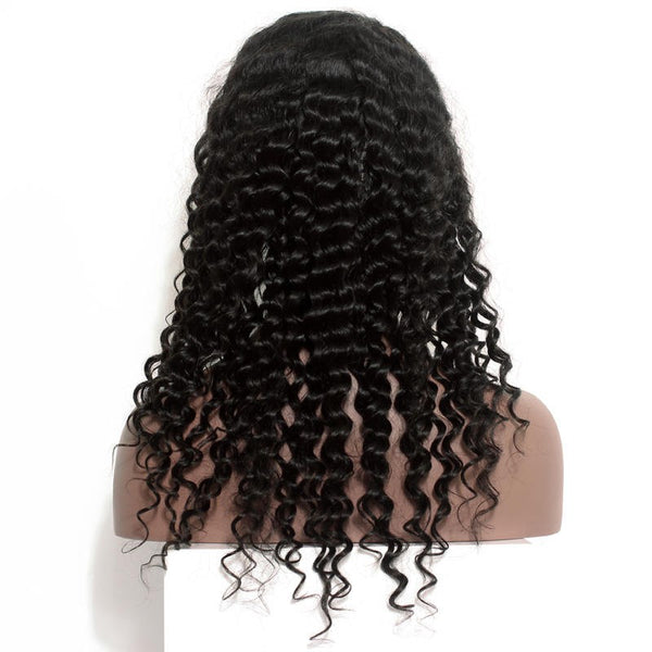 "Brazilian Curly 13""x4"" Lace Frontal"