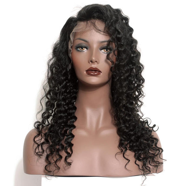 "Brazilian Curly 13""x6"" Lace Frontal"