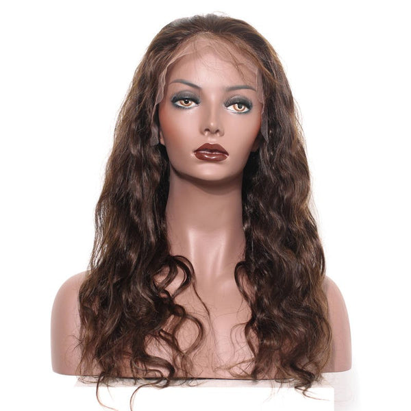 Brazilian Loose Wave  Full Lace Brown