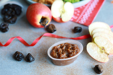 Apple, Cinnamon and Prune Purée