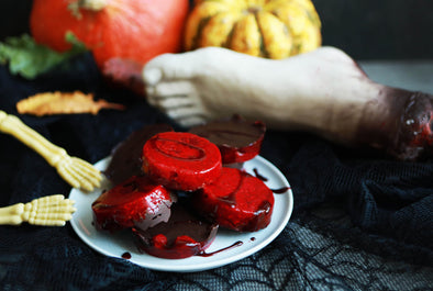 Halloween Chocolate Blood Cups