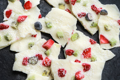 Frozen Yoghurt Fruit Bark