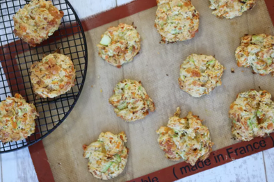 Mini Cheesy Vegetable Scones