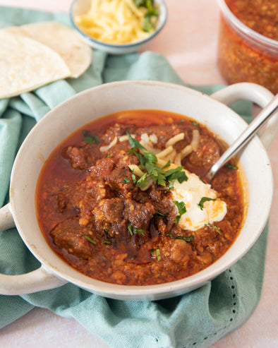 Slow Cooker Beef Chilli