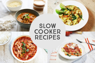 Meal Prep with your Slow Cooker