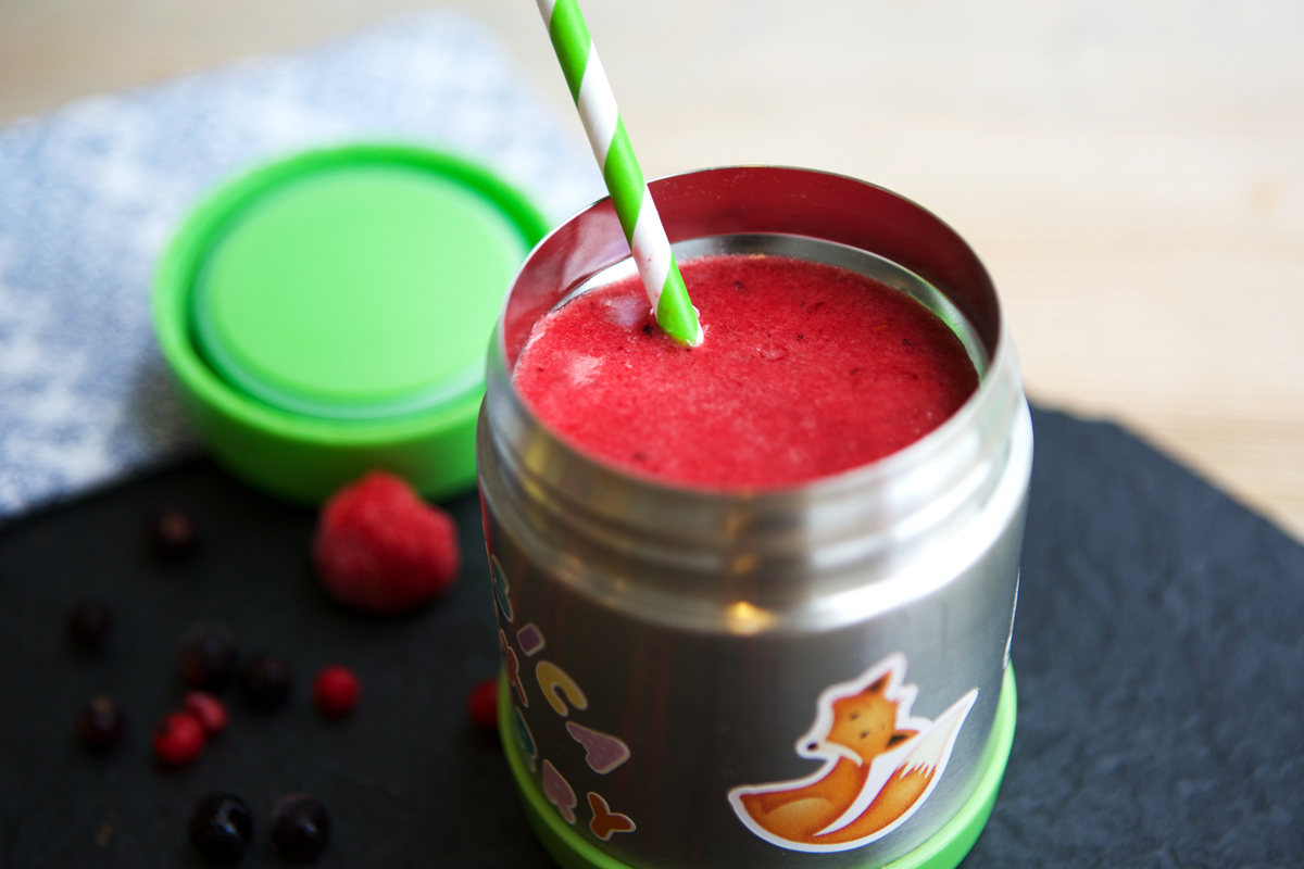Berry Smoothie Food Flask