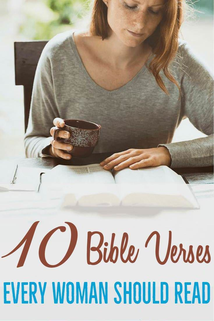 Bible Verses For Women - 10 Bible Verses Every Woman Should Read