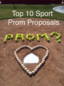 Top 10 Sport Prom Proposals