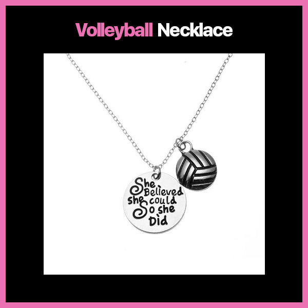 Volleyball Necklace
