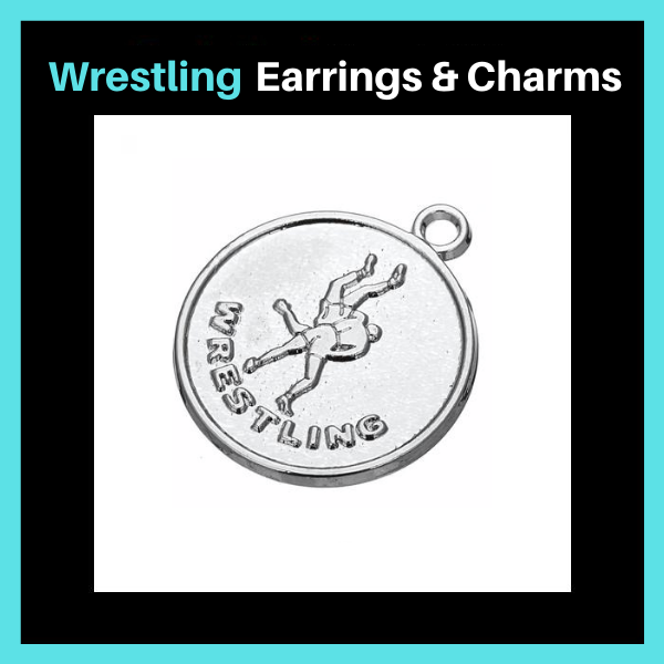 Wrestling Charms & Earrings