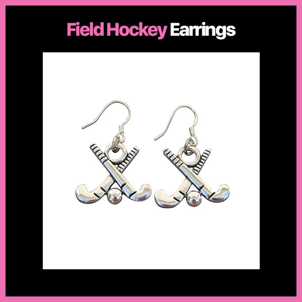 Field Hockey Earrings & Charms