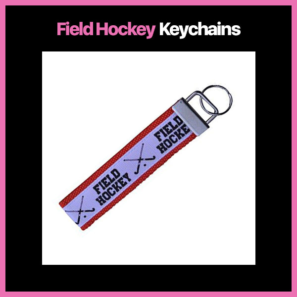 Field Hockey Keychains