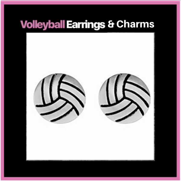 Volleyball Earrings & Charms