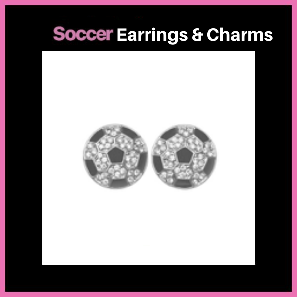 Soccer Earrings & Charms