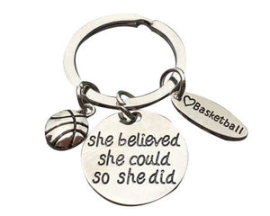 Basketball Keychains