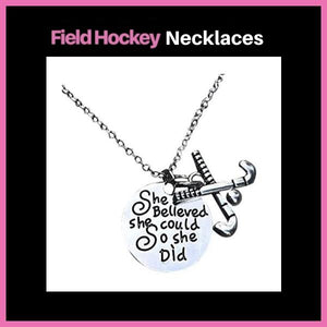 Field Hockey Necklace