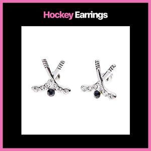 Hockey Earrings