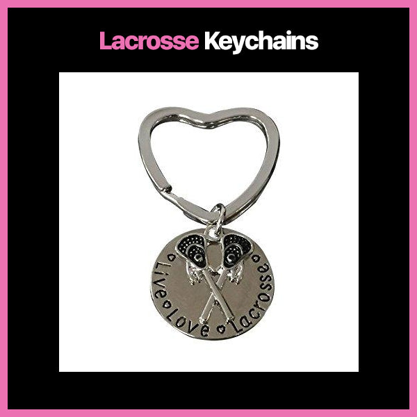 Lacrosse Keychains