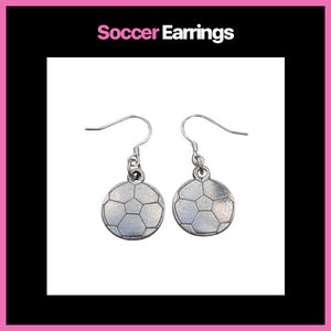 Soccer Earrings